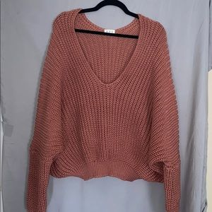 POL Cropped Sweater